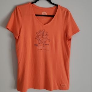 LIFE IS GOOD Classic fit Short Sleeve T-Shirt M